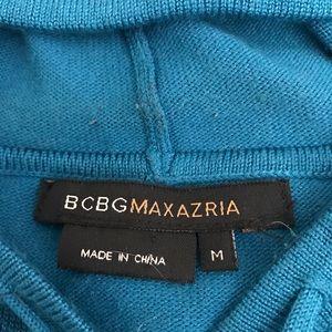 BCBG Max Azria zip front sweater/jacket